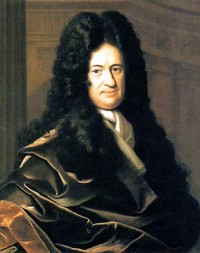 Portrait of Gottfried Wilhelm (1646-1716) Baron De Leibniz