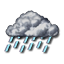 Heavy Rain, Click for detailed weather for ITXX0155